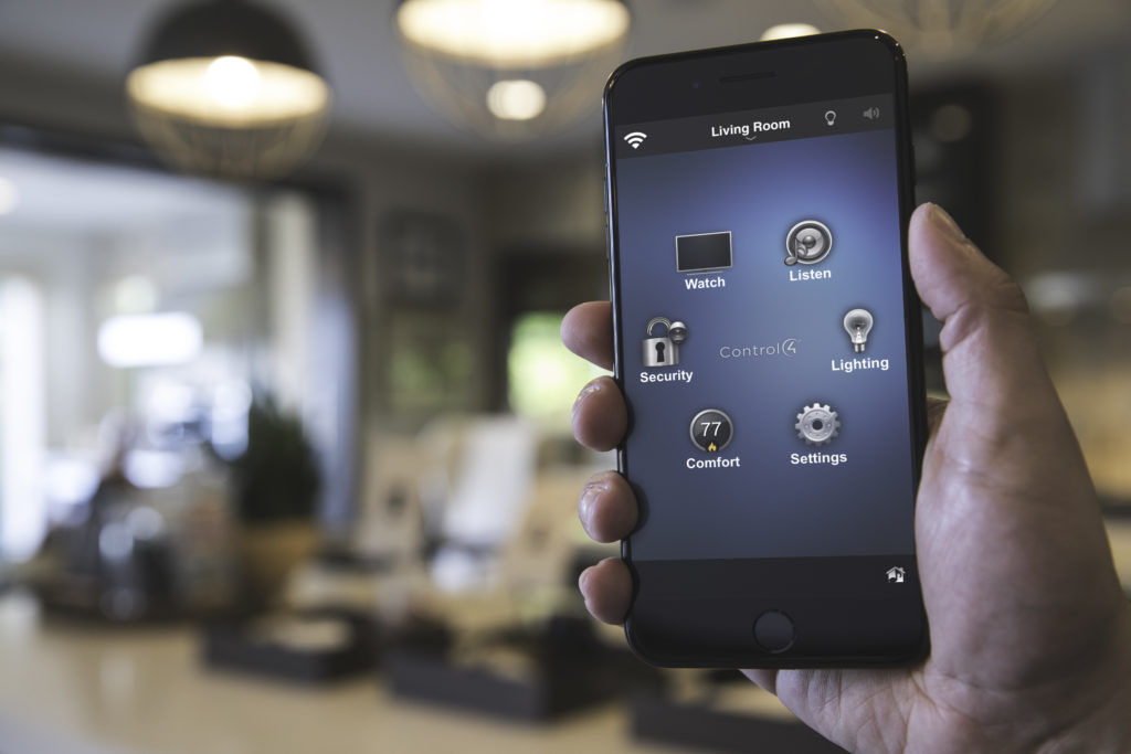 Home Automation, remote access through smartphone app